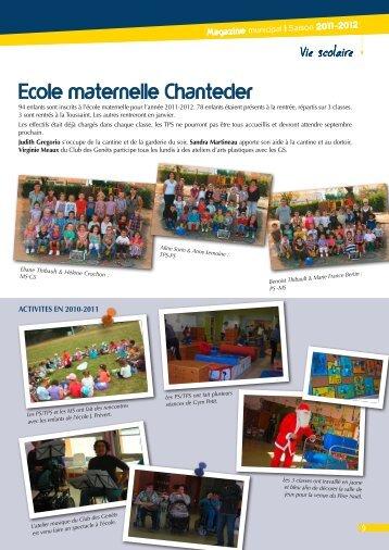 Ecole maternelle Chantecler