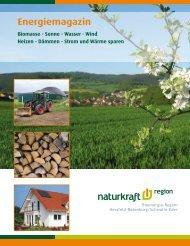Energiemagazin - naturkraft region