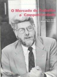 Mercado de trabalho e competitividade, O - Banco de Publicações ...