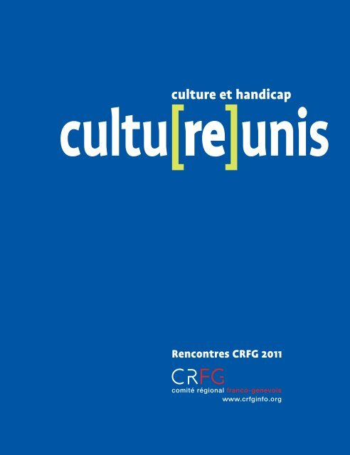publication Cultu(re)unis - CRFG