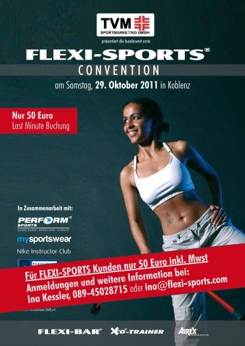 CONVENTION - FLEXI-SPORTS GmbH