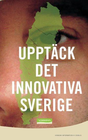 Upptäck det innovativa Sverige - Vinnova