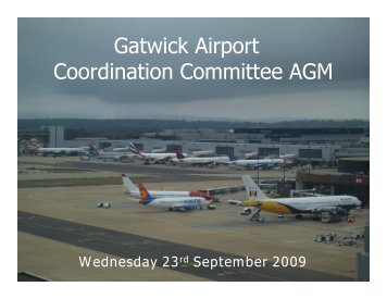 Gatwick Coordination Committee ACL Handout Sept 2009