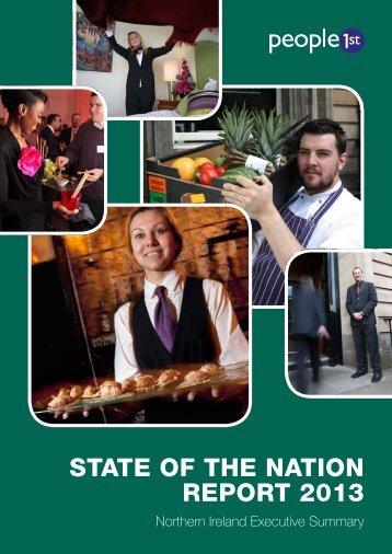Northern Ireland executive summary - People 1st