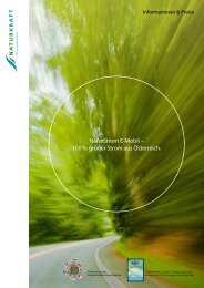 NaturStrom E-Mobil – 100 % grüner Strom aus Österreich. - Naturkraft