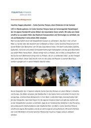 mauritius images präsentiert – Carlos Sanchez Pereyra, einen ...