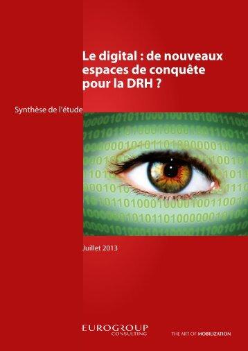 Etude RH & Digital - Eurogroup Consulting