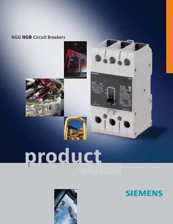NGG NGB Circuit Breakers - Siemens