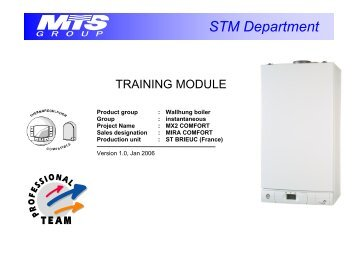 STM Department - AIRCO line
