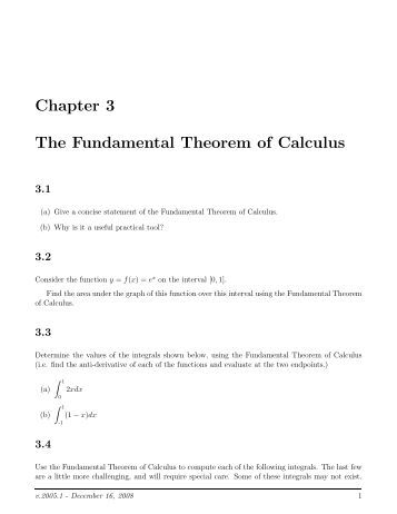 Worksheets Fundamental Theorem Of Calculus Worksheet fundamental theorem of calculus worksheet sharebrowse collection sharebrowse