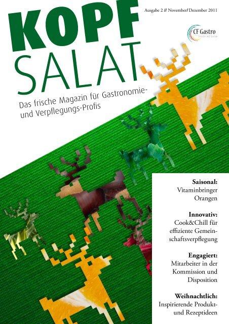 KOPF SALAT - Ausgabe 2  - CF-Gastro