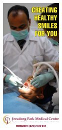 creating healthy smiles for you - Jerudong Park Medical Centre