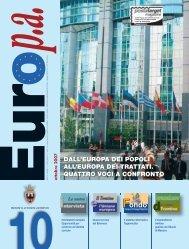 dall'europa dei popoli all'europa dei trattati. quattro voci a ... - Riviste