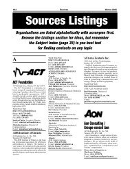 Sources 57 Listings