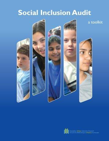 Social Inclusion Audit - Wellesley Institute