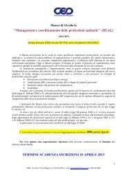 presentazione - Cesd-onlus.com