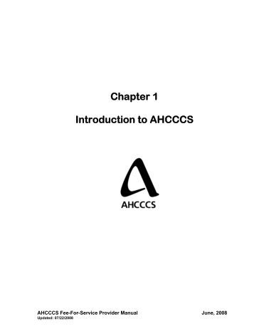 chapter 5 billing on the cms 1500 claim form ahcccs