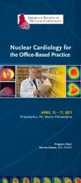 the Office-Based Practice - American Society of Nuclear Cardiology