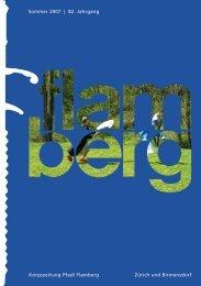 Gesamtausgabe flamberg Sommer 2/2007 ... - Pfadi Flamberg