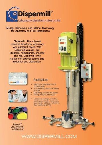 Laboratory-dissolvers-mixers-mills