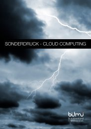 Cloud Computing Broschüre - BITMi Bundesverband IT-Mittelstand eV