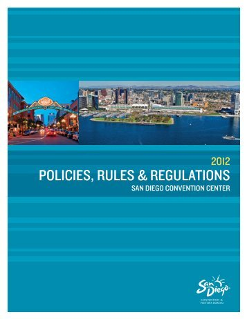 Poilcies and Regulations 072312.indd - San Diego