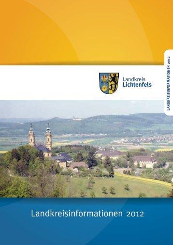 Landkreisinformationen_2012 - in Lichtenfels - Bayern