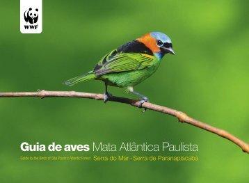Guia de aves Mata Atlântica Paulista - Secretaria do Meio Ambiente