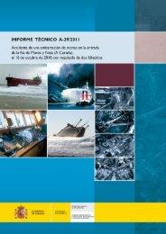 Informe Técnico A-39/2011 - Ministerio de Fomento