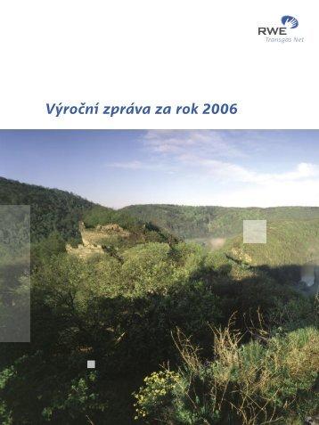 Výroční zpráva za rok 2006 - Net4Gas
