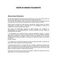 RIDER DE SONIDO VULGARXITO - La Plataforma