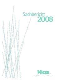 Sachbericht 2008 - bei der WIESE eV