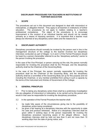 Resolution 1 of 2006 DCS Disciplinary Code and ... - GPSSBC