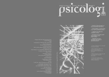 Notiziario n. 3-4/2004 - Ordine degli Psicologi del Lazio