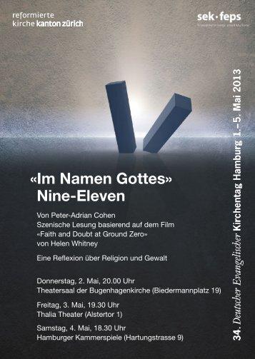 «Im Namen Gottes» Nine-Eleven - Schweizerischer Evangelischer ...