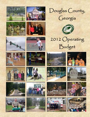 2012 BUDGET BOOK - Douglas County, Georgia