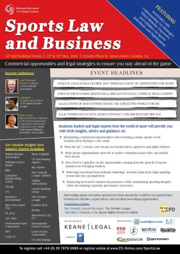 Sports Law and Business - C5