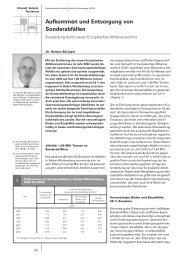 Aufkommen und Entsorgung von Sonderabfällen - Statistisches ...