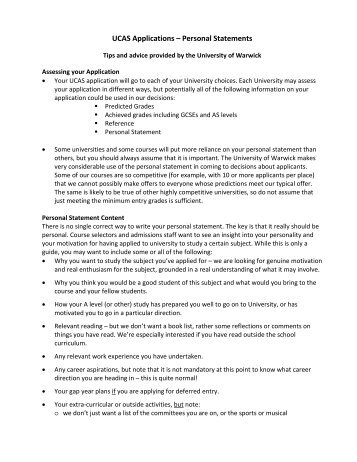Ucas Personal Statement Writing Frame  Ilearn