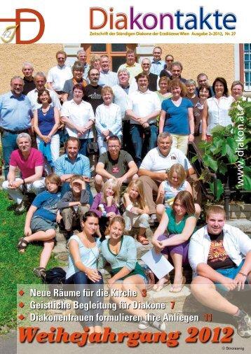 Nr. 27 - 2/2012 - Diakone Österreichs