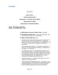 SeniorRådet Side 1 af 5 R e f e r a t  Møde 10-2011 Fredensborg ...