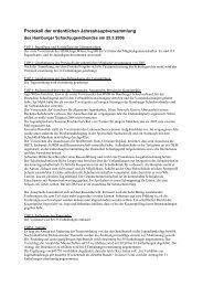 Protokoll der ordentlichen Jahreshauptversammlung - HSJB