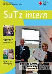 Sutzintern 01/13 - Christof-Husen-Haus