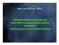 ECONOMIC DIVERSIFICATION THROUGH ... - Geoscience BC