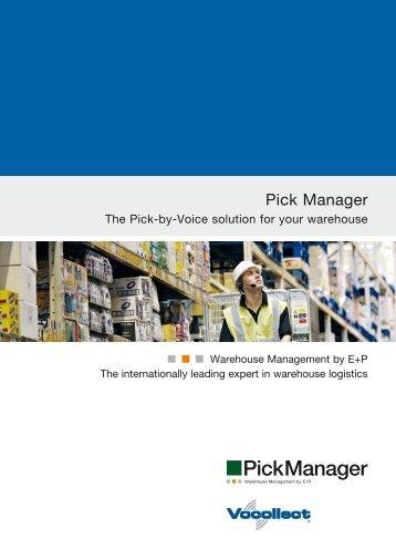 Pick Manager - Ehrhardt + Partner