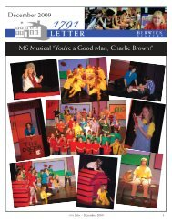 "December 2009 MS Musical ""You're a Good ... - Berwick Academy"