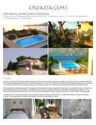 Villa Karma, Cavtat, Dubrovnik Riviera - CroatiaGems