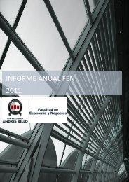 informe anual fen 2011 - Universidad Andrés Bello
