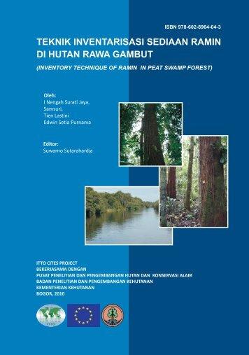 teknik inventarisasi sediaan ramin di hutan rawa gambut - ITTO