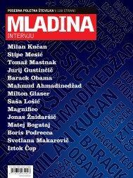 INTERVJUJI, poletje 2009 - Mladina